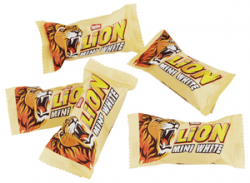 LION WHITE MINI vikt 50g