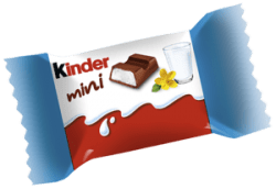 KINDER MAXI MINI vikt 50g