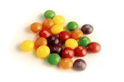 SKITTLES FRUITS vikt 50g