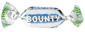 BOUNTY MINIATURES vikt 50g
